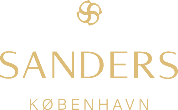 Sanders is deeply rooted in the creative history of its owner as well as its location in the royal part of Copenhagen