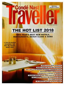Condé Nast UK Hot List 2018