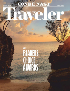 Condé Nast Traveler Readers Choice Award 2018